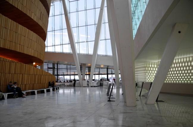 L'ingresso dell'Opera di Oslo