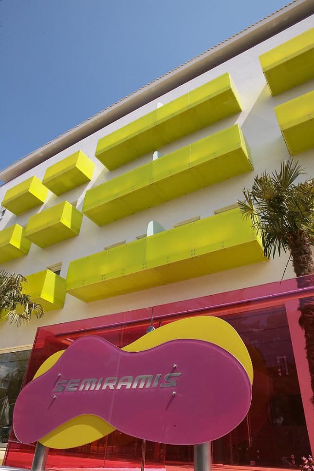Semiramis Hotel: esterno