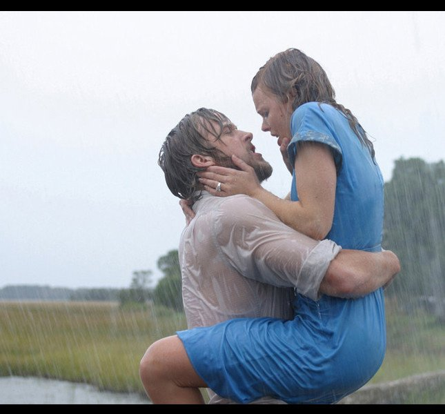 Ryan Gosling e Rachel McAdams ne 'Le pagine della nostra vita' di Nick Cassavetes (2004)