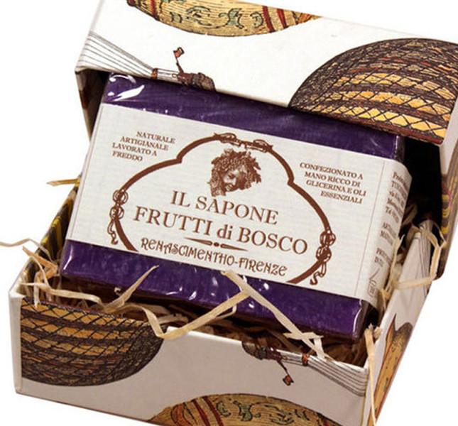 Bomboniera: sapone ai frutti di bosco di Tuscan Farm