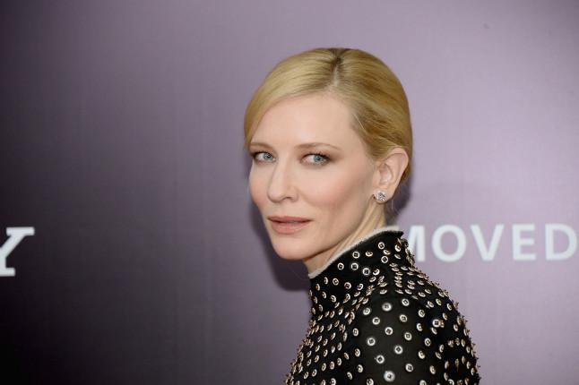 Cate Blanchett è l'unica protagonista femminile della pellicola The Monuments Men