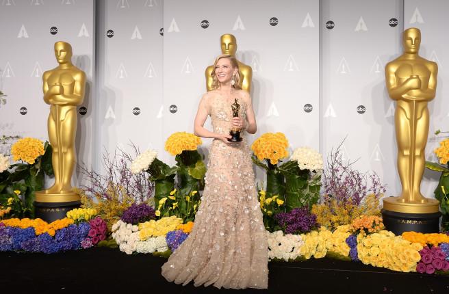 Cate Blanchett, premiata come migliore attrice protagonista per Blue Jasmine
