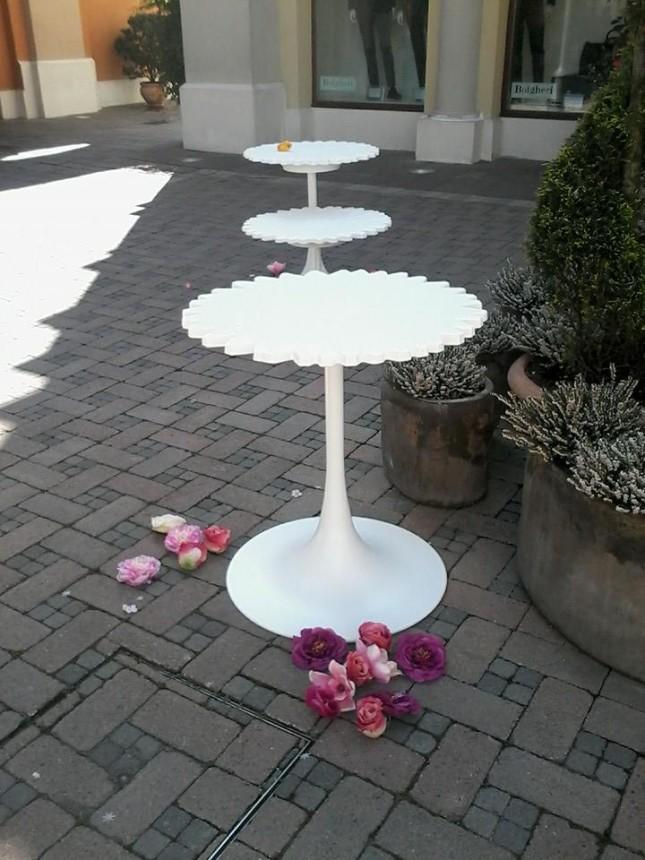 Margherite come tavolini outdoor