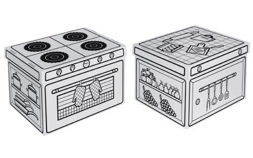 scatole porta giocattoli Villacarton