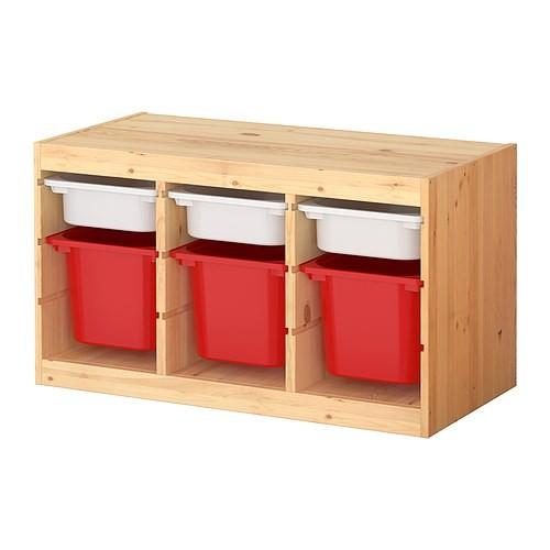 trofast combinazione con contenitori Ikea