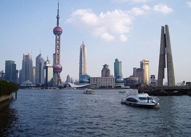 10°: Shanghai, Cina