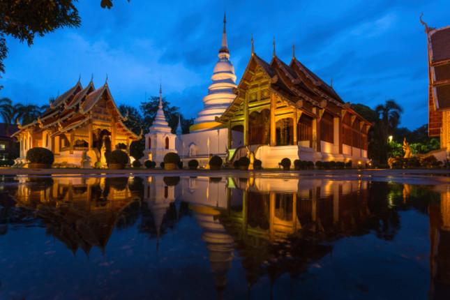 24°: Chang Mai, Thailandia