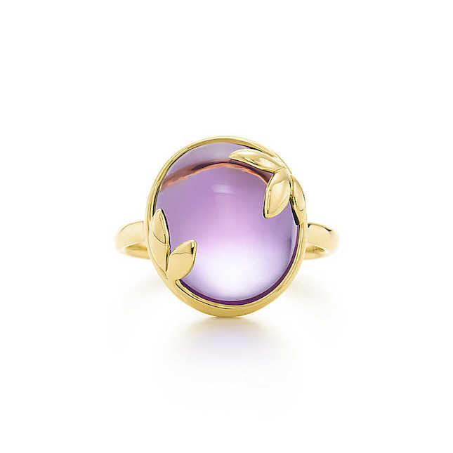 Anello Tiffany con pietre preziose