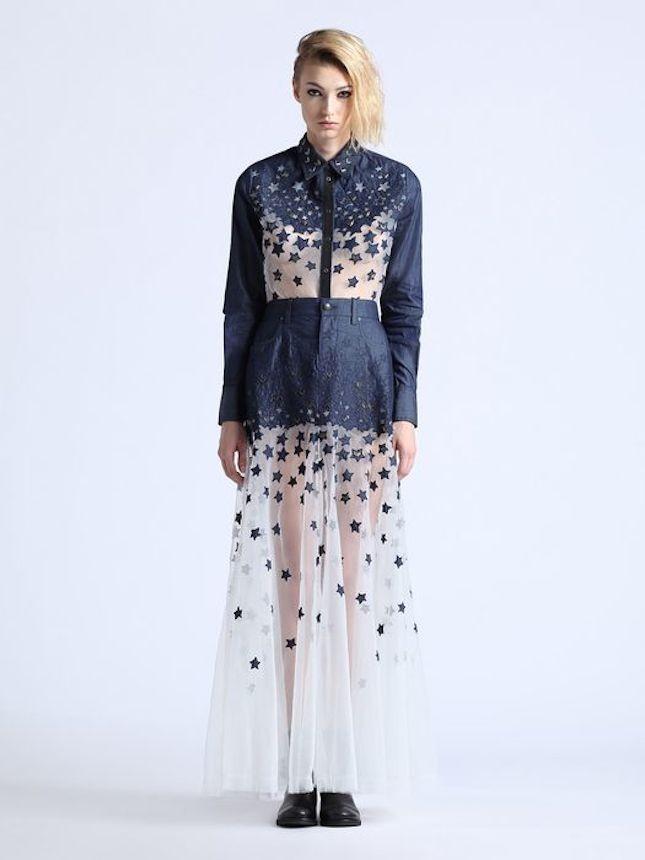 Giacca di jeans il nuovo trend della stagione estiva 2014