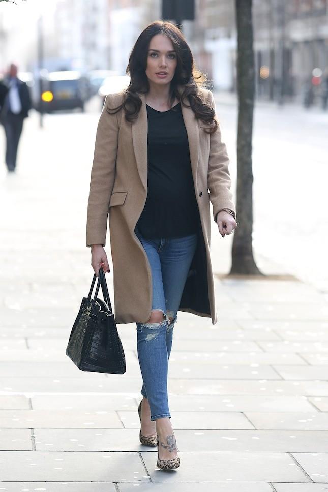 Tamara Ecclestone mentre fa shopping con a sua Birkin