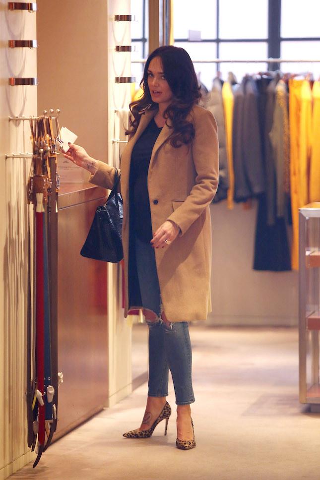 Tamara Ecclestone mentre fa shopping con la sua Birkin