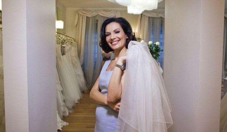 Alessandra Rinaudo nella boutique Nicole