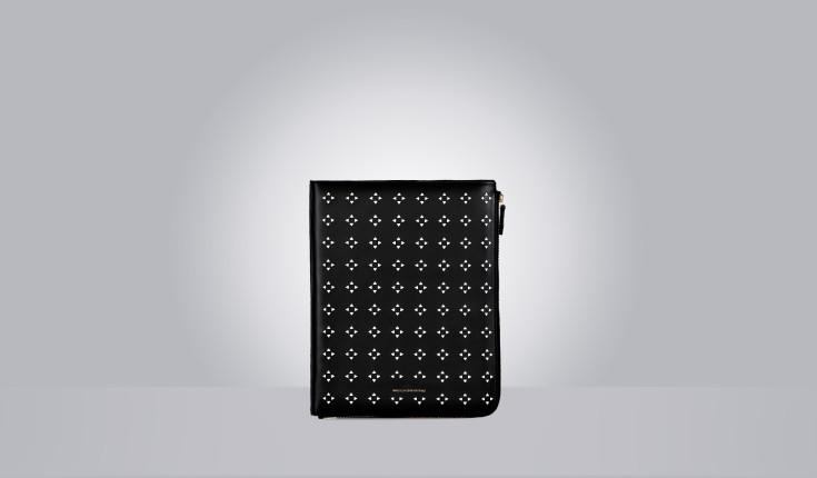 Porta iPad in neoprene e spazzolato cutout