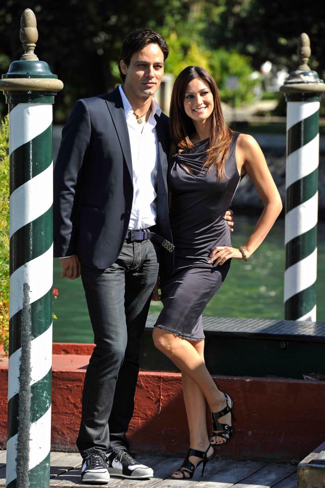 Garko con Manuela Arcuri