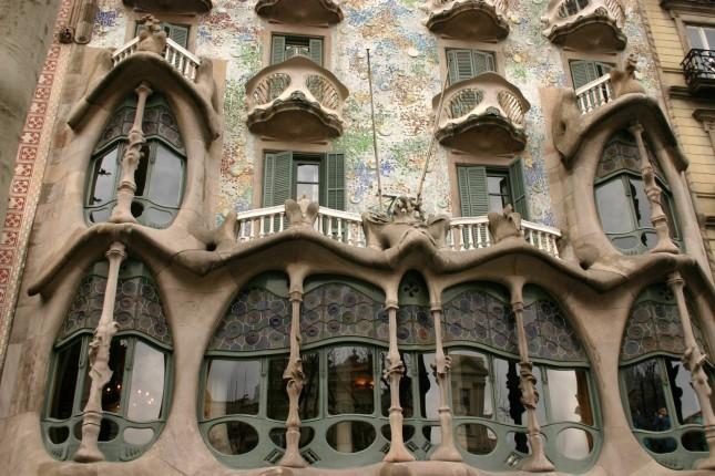 Gaudi Casa Batllo, Barcellona