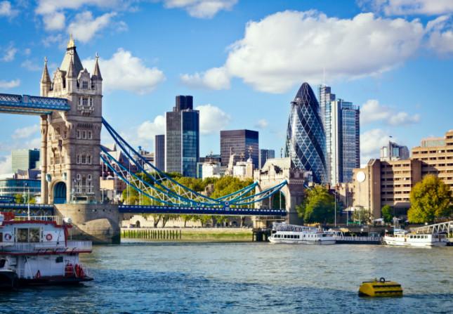 Londra, dalle sponde del Tamigi