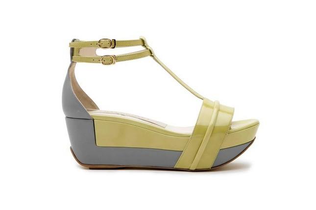 Zeppa Anteprima SS 2014, grigio e giallo