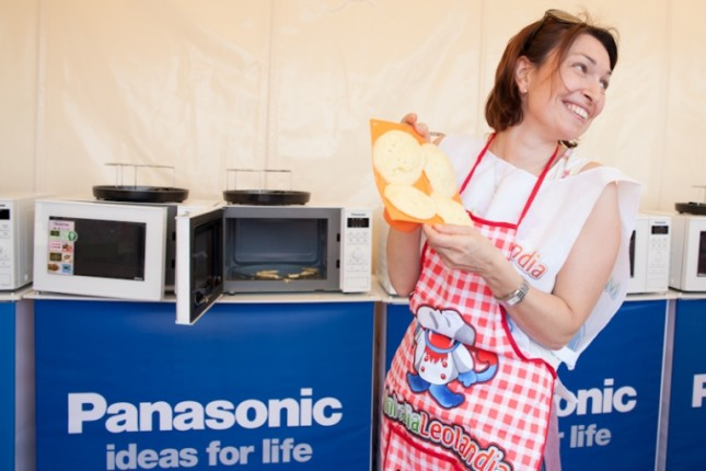 Imparare ricette e veloci da fare col microonde a Leolandia