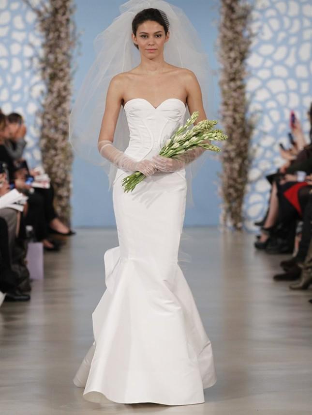 Abito Addison, Oscar de la Renta collezione sposa PE 2014