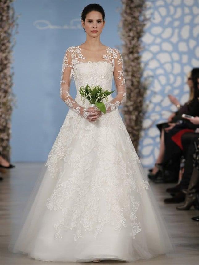 Abito Ashton, Oscar de la Renta collezione sposa PE 2014