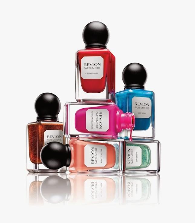 Smalti profumati della collezione Revlon Parfumerie
