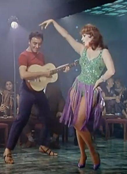 Sofia Loren in una scena di La baia di Napoli 1960 / wikipedia