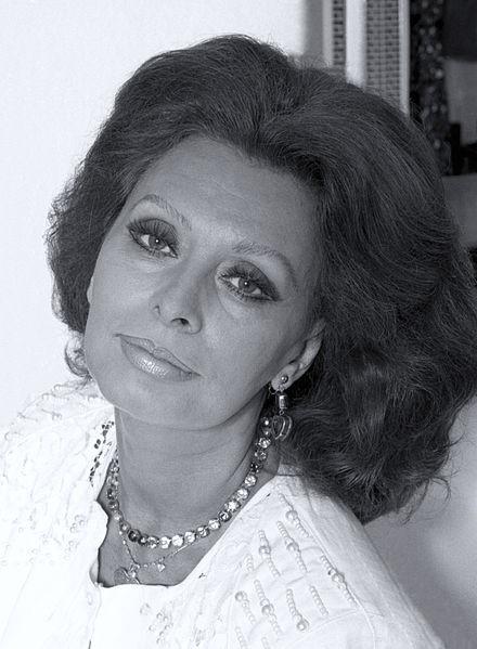 Sophia Loren di Allan Warren / wikimedia