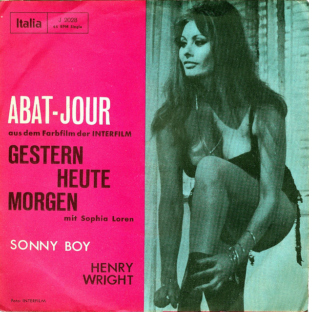 Yesterday Today Tomorrow, Gestern Heute Morgen , Henry Wright - Abat Jour  1963 / @flickr / Affendaddy