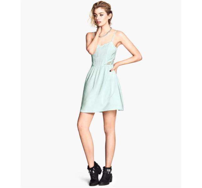 Dress verde menta H&M
