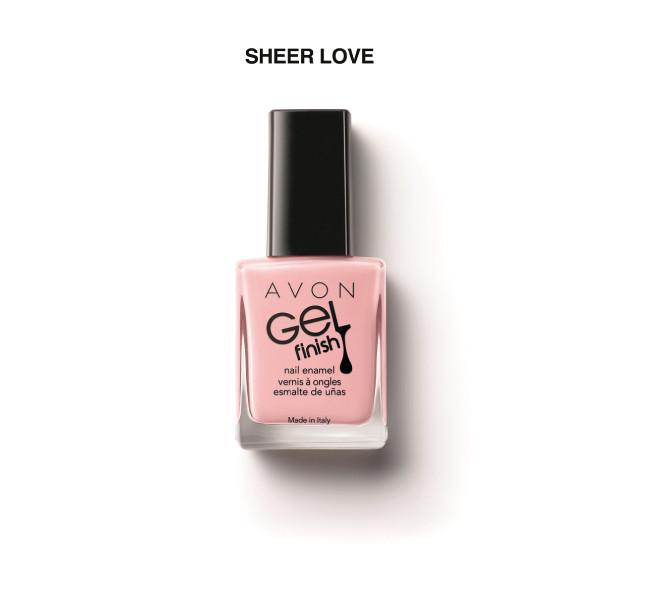 Sheer love, una delle tonalità Avon Gel effect