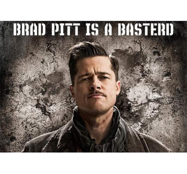 Brad Pitt in una locandina di
