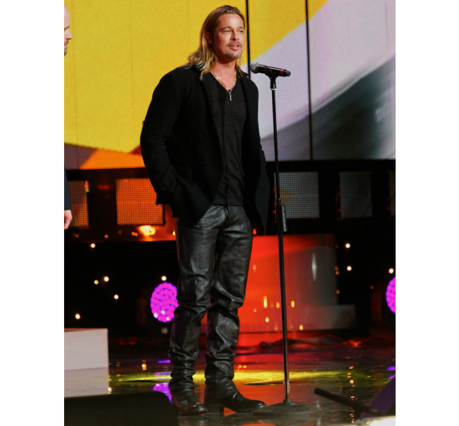 Brad Pitt al Festival del Cinema di Mosca / photo: Getty