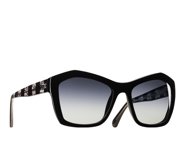 Spring summer 2014 Chanel Eyewear collection _ Modello Batterfly