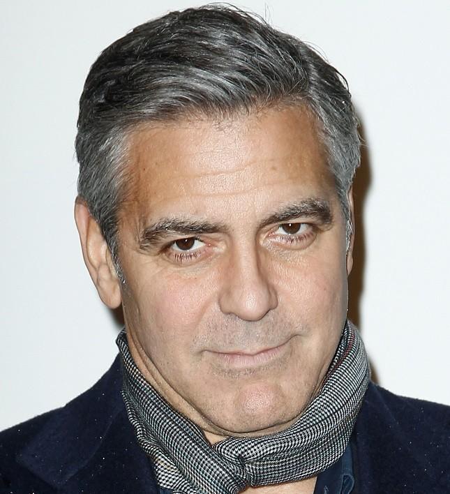 George Clooney a Parigi per Monuments Men