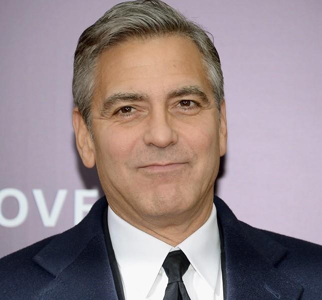 George Clooney alla premiere americana di The Monuments Men