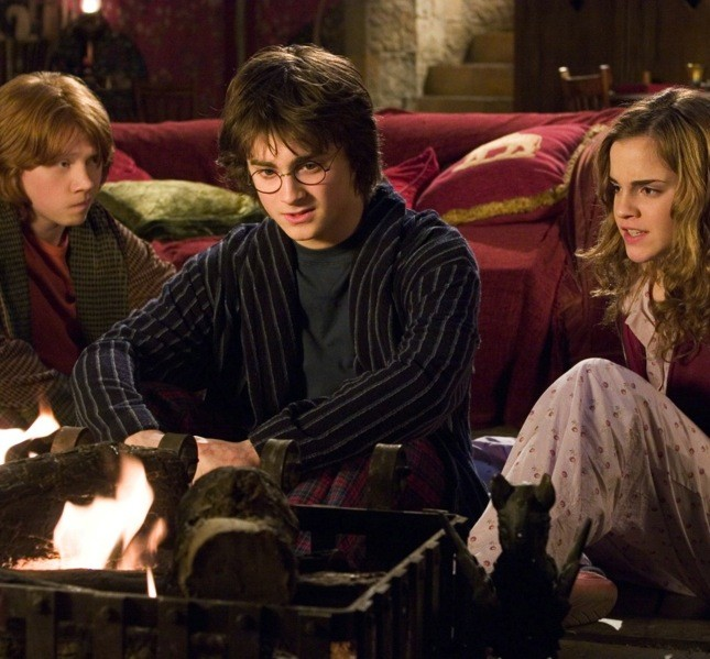 Ron, Harry e Hermione. Solo loro i protagonisti delle avventure magiche della saga