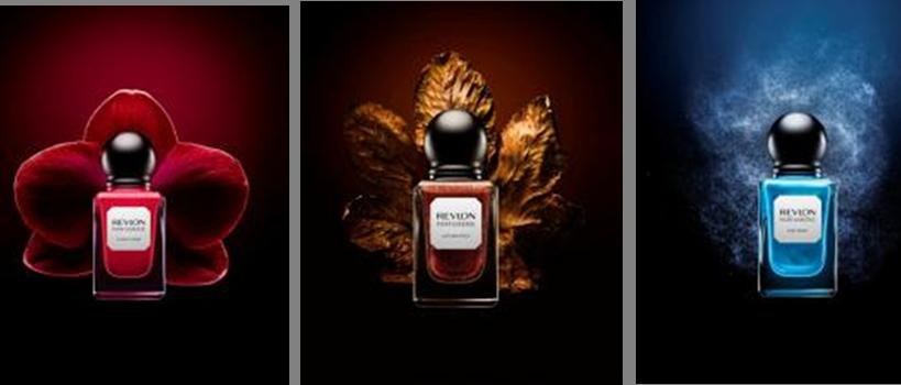 Smalti profumati Revlon della collezione Parfumerie