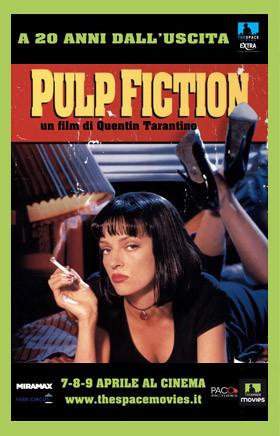 Da lunedì 7 per tre giorni Pulp Fiction si potrà vedere sul grande schermo