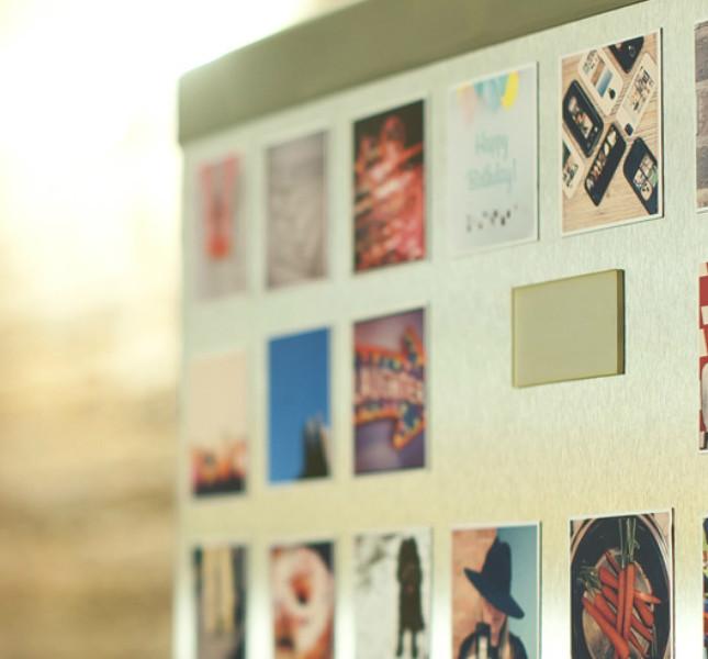 Con Sticky9 si possono creare magneti con le proprio foto...
