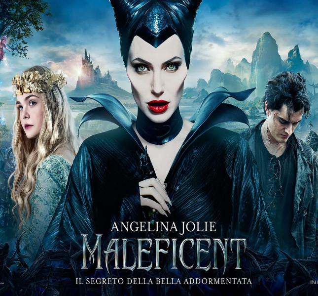 Il manifesto del film Malficent, in uscita a maggio nelle sale