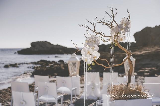 Matrimonio in spiaggia - Sara Events