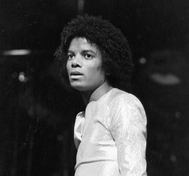 Un'immagine di Michael Jackson in gioventù
