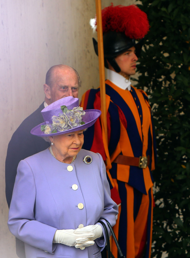 La regina e il duca Filippo