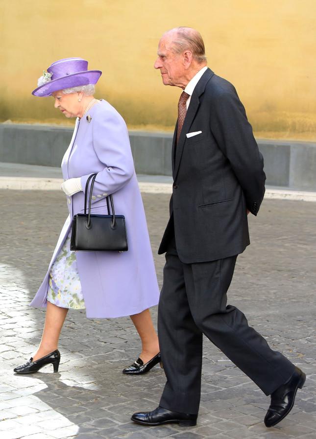 La regina Elisabetta e il duca Filippo