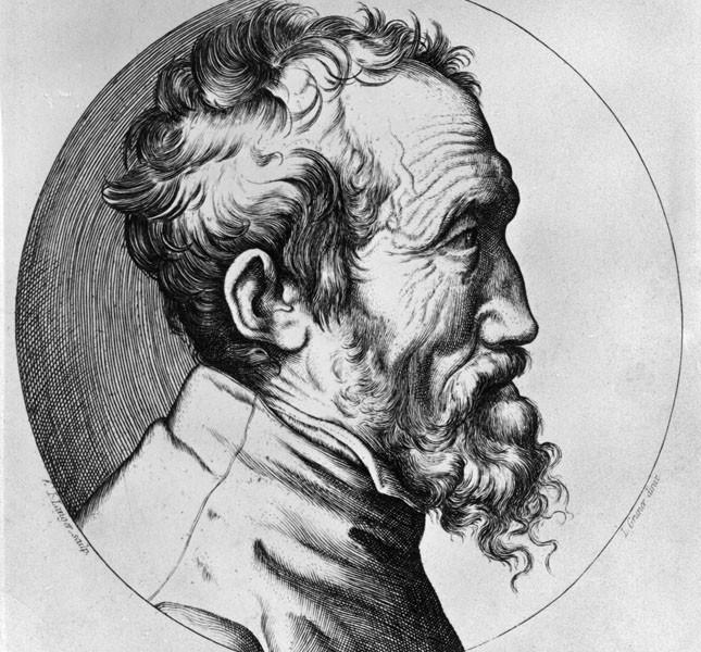 Ritratto cinquecentesco di Michelangelo