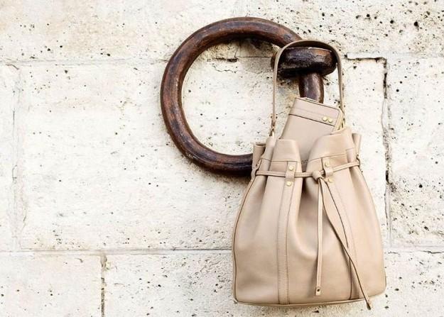 Borsa a secchiello Lancel collezione p/e 2014