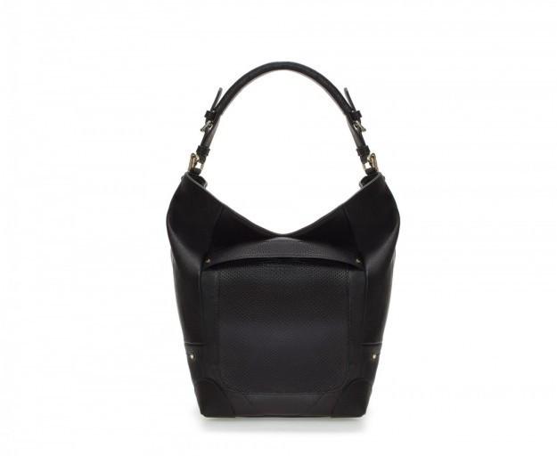 Borsa a secchiello nera Zara collezione p/e 2014