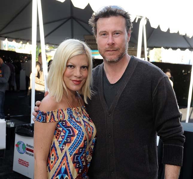 Tori Spelling con il marito Dean McDermott nel 2011