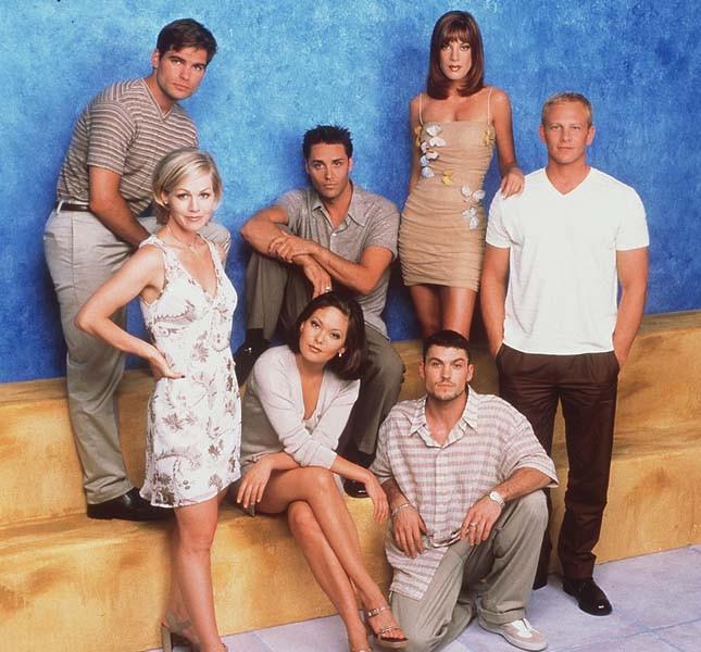 Una foto del cast di Beverly Hills