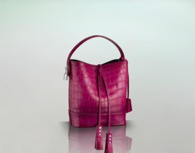 Secchiello in pelle di Louis Vuitton